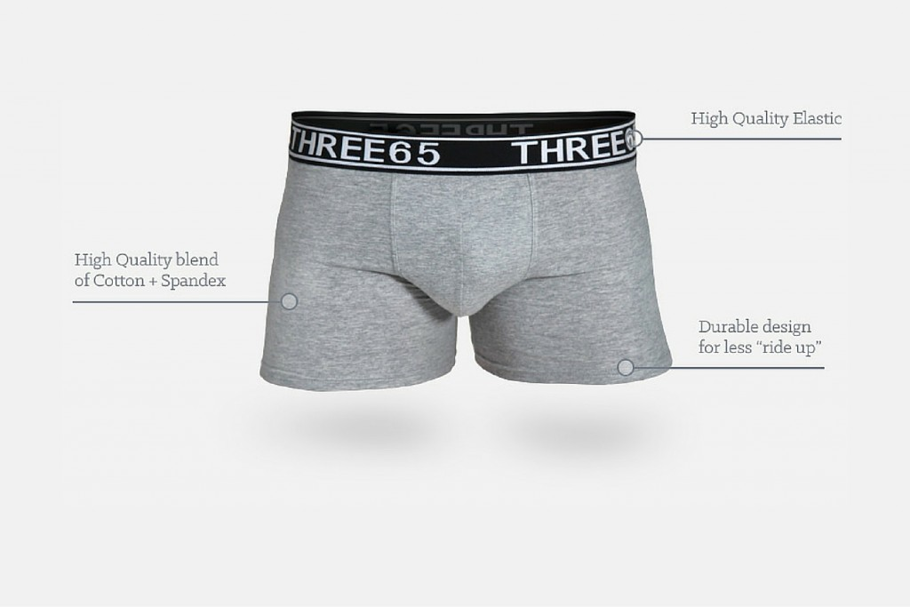Three65 underwear subscription