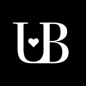 The letter U and B intertwined with a heart - the symbol of the company